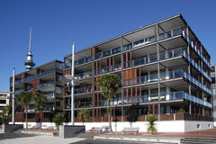 Waterfront Apartments Stock Image