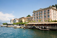 Waterfront Bellagio, Italy Royalty Free Stock Photos