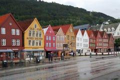 Waterfront Bryggen, Bergen Royalty Free Stock Photo