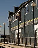 Waterfront building Stock Images