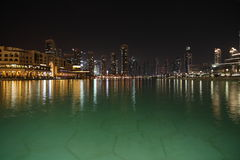 Waterfront buildings Dubai Stock Images