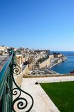 Waterfront buildings, Valletta. Stock Photography