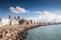 Waterfront of Cadiz Stock Photography