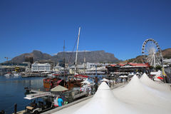 Waterfront in Cape Town Royalty Free Stock Image