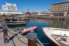 Waterfront in Cape Town. At the waterfront in Cape Town South Africa Stock Photos