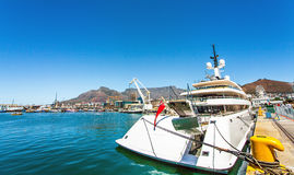 Waterfront in Cape Town. At the waterfront in Cape Town South Africa Royalty Free Stock Photography