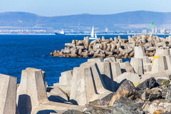 Waterfront in Cape Town. At the waterfront in Cape Town South Africa Stock Photography