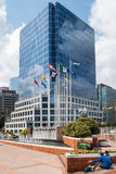 Waterfront Centre building in downtown Vancouver Stock Image