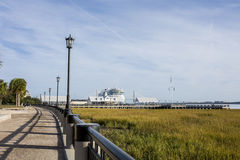 Waterfront of Charleston, South Carolina Stock Photography