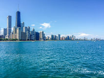 Waterfront at Chicago Stock Photo