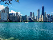 Waterfront at Chicago Royalty Free Stock Photography