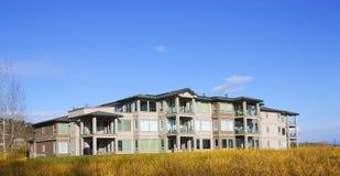 Waterfront Condominiums. Stock Photos