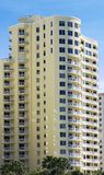 Waterfront condos. Towering waterfront condos in an upscale area Royalty Free Stock Image