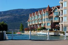 Waterfront Condos stock photography