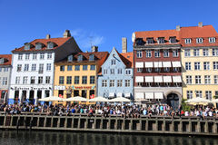 Waterfront in Copenhagen Royalty Free Stock Photo