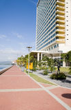 Waterfront development port of spain trinidad Royalty Free Stock Photography