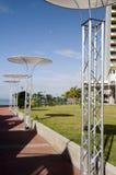 Waterfront development program trinidad Stock Image