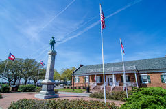 Waterfront downtown of edenton Stock Photos