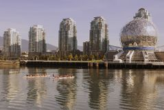 Waterfront downtown Vancouver Stock Images