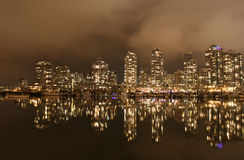 Waterfront Dreamscape. High end condominium development in Vancouver, Canada Royalty Free Stock Photo