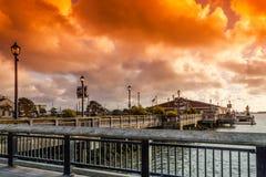 Waterfront of Eureka Stock Photos