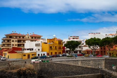 Waterfront of Garachico Stock Photos