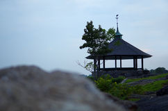 Waterfront Gazebo Royalty Free Stock Images