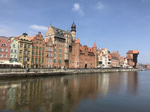 Waterfront in Gdansk Stock Photo