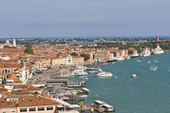 Waterfront Gulf of Venice from Campanile Stock Photos
