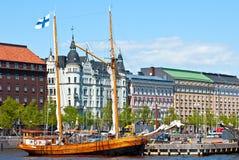 Waterfront Helsinki. Stock Photo