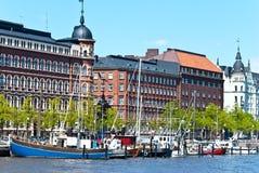 Waterfront Helsinki. Royalty Free Stock Photos