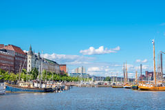 Waterfront of Helsinki. Finland Stock Images