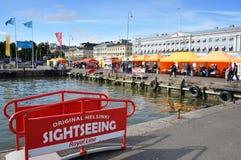 Waterfront at Helsinki Royalty Free Stock Photography