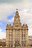 Waterfront historic building in Liverpool. Stock Photo
