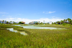 Free Waterfront Homes Royalty Free Stock Image - 40674216