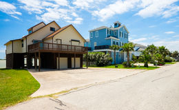Waterfront homes Royalty Free Stock Image