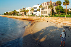 Waterfront Homes In Charleston, SC Royalty Free Stock Photography