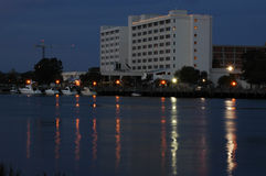 Waterfront Hotel. Hotel located on the Cape Fear River Royalty Free Stock Photos