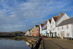 Waterfront Houses, Wivenhoe,Essex,UK Stock Image