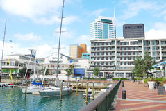 Waterfront In Auckland City Royalty Free Stock Photo