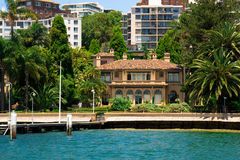 Waterfront Living, Sydney Australia Royalty Free Stock Photos