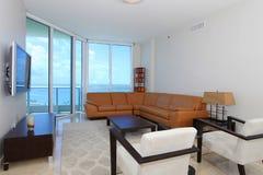 Waterfront Livingroom Royalty Free Stock Photo