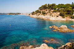 Waterfront of Lloret de Mar Costa Brava Stock Photography