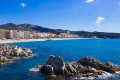 Waterfront of LLoret de Mar Costa Brava Spain. Waterfront of LLoret de Mar. Costa Brava. Spain Royalty Free Stock Images