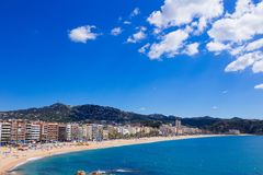 Waterfront of LLoret de Mar Costa Brava Spain. Waterfront of LLoret de Mar. Costa Brava. Spain Royalty Free Stock Photography