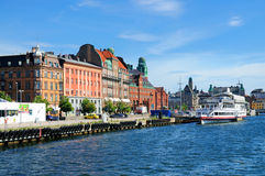 Waterfront of Malmö, Sweden Royalty Free Stock Photography