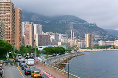 Waterfront in Monaco Stock Image