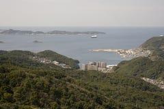 Waterfront of Nagasaki Royalty Free Stock Image