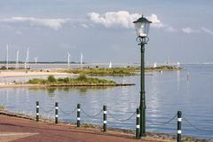 Waterfront in the Netherlands Stock Photo