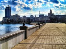 Waterfront of Novorossiysk Stock Photo